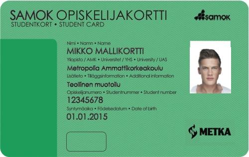 Vihreä opiskelijakortti edut